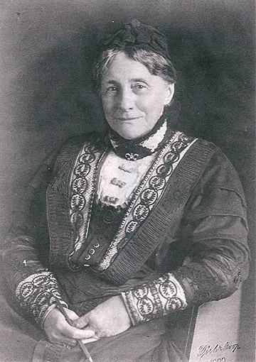 Julie Becker, Gelnhausen 1909, Foto Dührkoop
