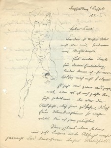 Brief Harro Siegel