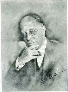 Carl Heinrich Becker in den 1920er Jahren