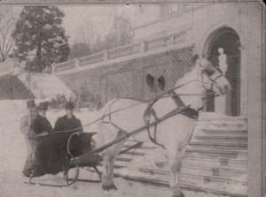 Carl und Hedwig Becker 1908 in Gelnhausen