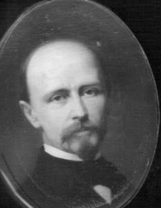 Carl Wilhelm Ferdinand Becker 1821-1898. Gemälde von Therese Schwartze, wohl Amsterdam 1865