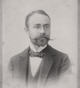 Ferdinand Becker um 1900, Foto Höhn in Hanau