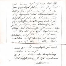 Brief von Konrad Adenauer, Teil 2