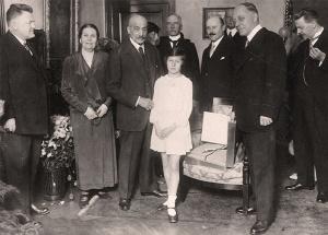 C. H. Becker mit Max Liebermann und Familie, sowie Waetzoldt