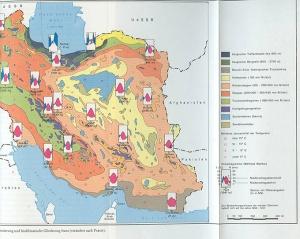 aus: Eckart Ehlers, Iran, Grundzüge einer geographischen Landeskunde, wbg Darmstadt 1980, nach Seite 100