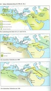 aus: dtv-Atlas Weltgeschichte Band 1, 24. Aufl., 1990