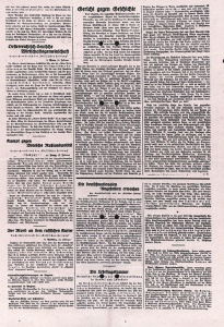 Vossische Zeitung, Quelle: Preußisches Staatsarchivs Preußischer Kulturbesitz