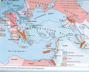 Osmanisches Reich im I. Weltkrieg
