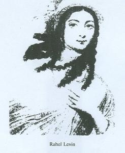 Julie Heyse geb.Saling. Zeichnung W.Hensel.vgl.Anmkg.35
