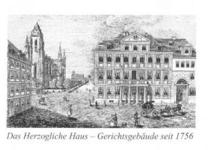 Das Gerichtsgebäude wurde 1945 bei einem Angriff zerstört. So ist keines der Gebäude des Reichskammer-gerichtes übrig geblieben, nur die Alte Kammer am Fischmarkt 13 beherbergte nach 1756 dessen Kanzlei.