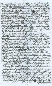 3 des Briefes von Marianne Saling