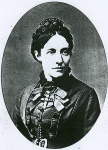 Julie Becker geb. Schöffer, Aufnahme um 1875